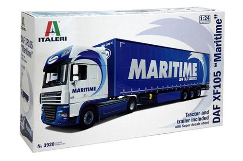 "1/24 DAF XF105""MARITIME""トラック プラモデル(再販)[イタレリ]《在庫切れ》"