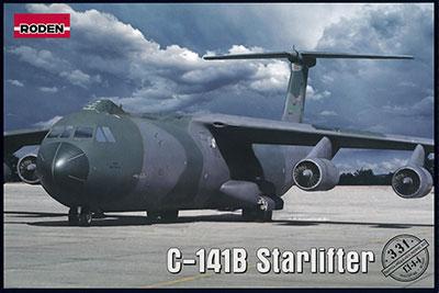 1/144 米ロッキードC-141B スターリフター戦略輸送機・湾岸戦争 プラモデル[ローデン]《在庫切れ》