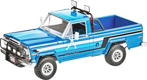 """1/25 80 ジープ HONCHO""""アイスパトロール""""プラモデル[アメリカレベル]《取り寄せ※暫定》"""