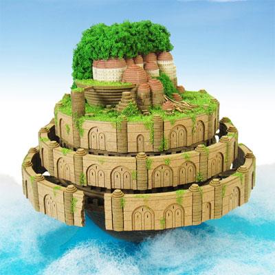 みにちゅあーとキット スタジオジブリシリーズ 天空の城ラピュタ ラピュタ城[さんけい]《在庫切れ》