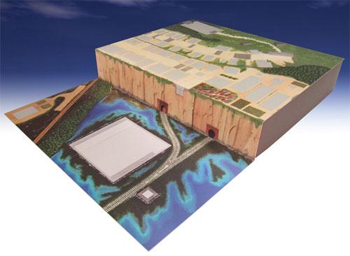 みにちゅあーとキット スタジオジブリシリーズ 千と千尋の神隠し 1/150 不思議の町ジオラマ[さんけい]《在庫切れ》