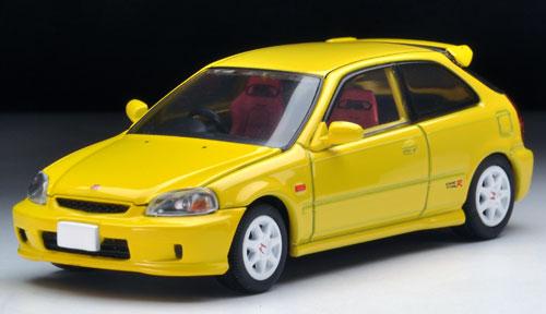 トミカリミテッド ヴィンテージ ネオ LV-N165a シビックタイプR 99年(黄)[トミーテック]《在庫切れ》