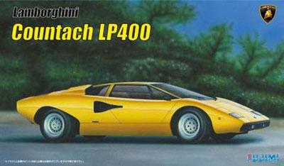 1/24 リアルスポーツカーシリーズNo.8 ランボルギーニ カウンタック LP400 プラモデル[フジミ模型]《発売済・在庫品》
