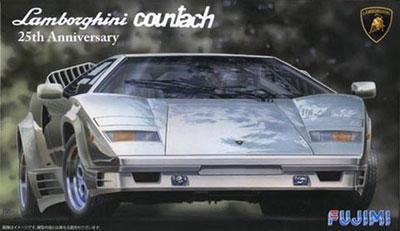 1/24 リアルスポーツカーシリーズNo.60 ランボルギーニ カウンタック 25thアニバーサリー プラモデル[フジミ模型]《取り寄せ※暫定》