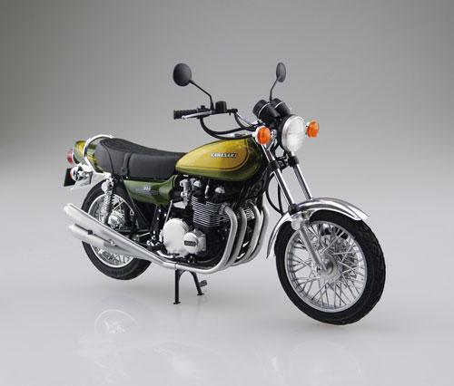 1/12 バイク No.56 カワサキ 900 SUPER4 Z1 カスタムパーツ付き プラモデル(再販)[アオシマ]《在庫切れ》