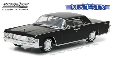 1/43 The Matrix (1999) - 1965 Lincoln Continental[グリーンライト]《07月仮予約》