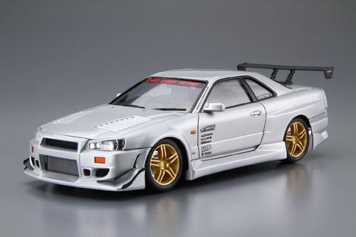 ザ・チューンドカー No.50 1/24 C-WEST BNR34 スカイライン GT-R' 02(ニッサン) プラモデル[アオシマ]《取り寄せ※暫定》