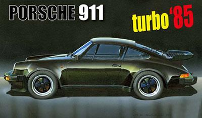 1/24 リアルスポーツカーシリーズNo.59 ポルシェ911 ターボ'85 プラモデル[フジミ模型]《取り寄せ※暫定》