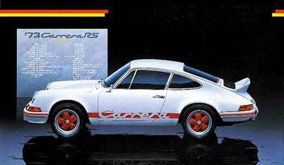 1/24 リアルスポーツカーシリーズNo.26 ポルシェ911 カレラRS'73 プラモデル[フジミ模型]《取り寄せ※暫定》
