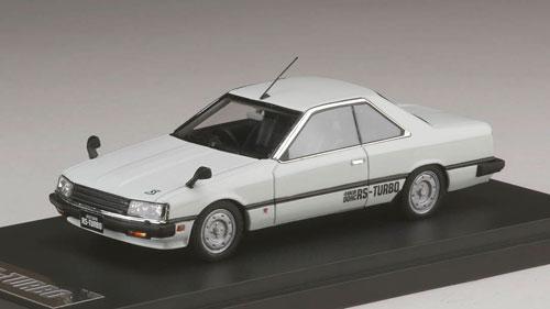 1/43 ニッサン スカイライン ハードトップ 2000 RS-ターボ (KDR30) フェンダーミラー ホワイト[MARK43]《取り寄せ※暫定》