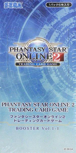 PHANTASY STAR ONLINE 2 TRADING CARD GAME Vol.1-1 20パック入りBOX[セガ]《発売済・在庫品》