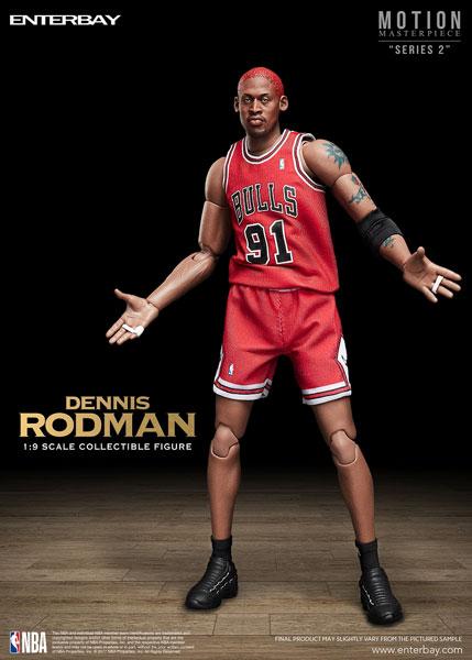 1/9 モーションマスターピース コレクティブル フィギュア/ NBAコレクション: デニス・ロッドマン[エンターベイ]【送料無料】《在庫切れ》