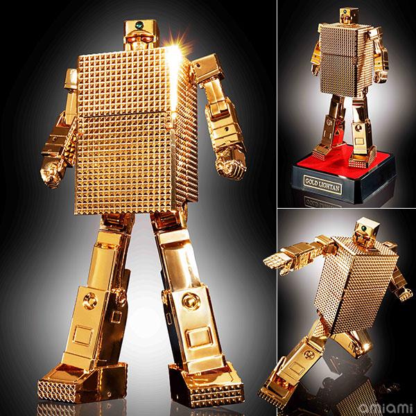 超合金魂 GX-32G24ゴールドライタン 24金メッキ仕上げ 『黄金戦士ゴールドライタン』[バンダイ]《在庫切れ》
