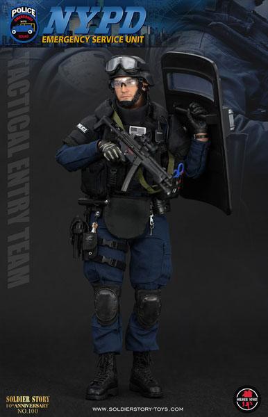 1/6 NYPD ESU(ニューヨーク市警察 特殊部隊) タクティカル エントリー チーム