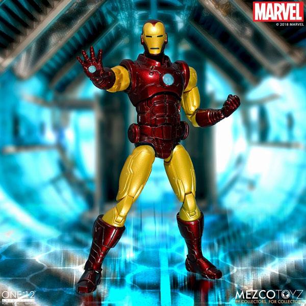 ワン12コレクティブ/ マーベルコミック: アイアンマン 1/12 アクションフィギュア[メズコ]《在庫切れ》