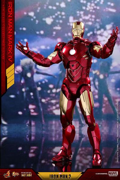 ムービー・マスターピース DIECAST 『アイアンマン2』1/6スケールフィギュア アイアンマン・マーク4