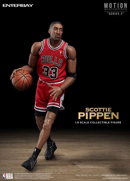 1/9 モーションマスターピース コレクティブル フィギュア/ NBAコレクション: スコッティ・ピッペン[エンターベイ]【送料無料】《在庫切れ》