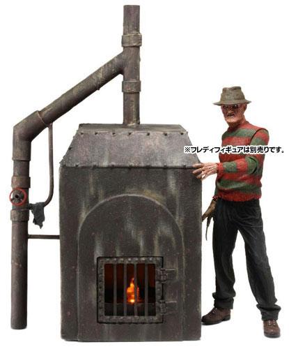エルム街の悪夢/ フレディ・クルーガー ファーネス 焼却炉 7インチ アクションフィギュア ジオラマ(再販)[ネカ]《在庫切れ》