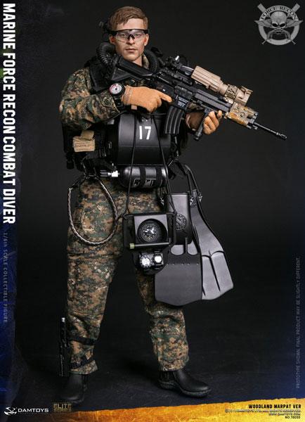 1/6 マリーン フォース リーコン コンバット ダイバー ウッドランド マーパット Ver.