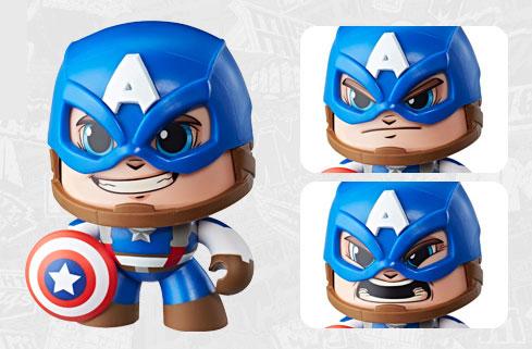 マイティ・マグ 『マーベル・コミック』 キャプテン・アメリカ[ハズブロ]《在庫切れ》