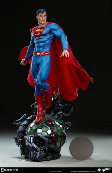 『DCコミックス』 プレミアム・フォーマット・フィギュア スーパーマン[サイドショウ]【同梱不可】【送料無料】《01月仮予約》