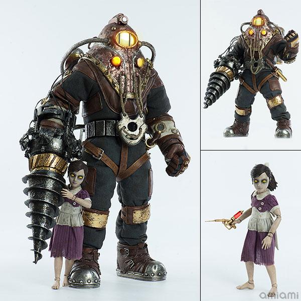 BioShock2 1/6 Subject Delta & Little Sister バイオショック2 実験体デルタ&リトルシスター 可動フィギュア[スリー・ゼロ]【送料無料】《11月予約》
