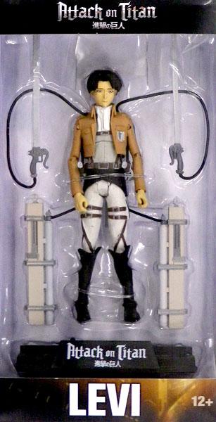 進撃の巨人 / リヴァイ・アッカーマン 7インチフィギュア[マクファーレントイズ]《発売済・在庫品》