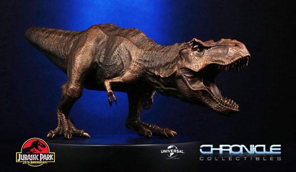 ジュラシック・パーク スタチュー ティラノサウルス・レックス 25周年記念ブロンズカラー版