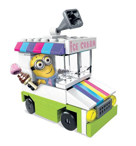 メガコンストラックス ミニオンズ のりもの アイスクリームトラック ミニ[マテル]《在庫切れ》