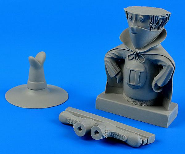 F-4 ファントムII マスコットキャラクター(90mm) レジン製組立キット[エアロボーナス]《取り寄せ※暫定》