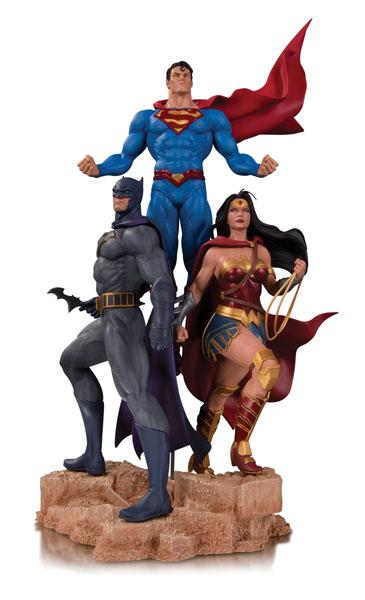 『DCコミックス』 DC スタチュー 「デザイナーシリーズ」トリニティ By ジェイソン・ファボック