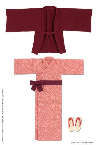 ピュアニーモ用 PNS 温泉浴衣セット エンジ (ドール用)