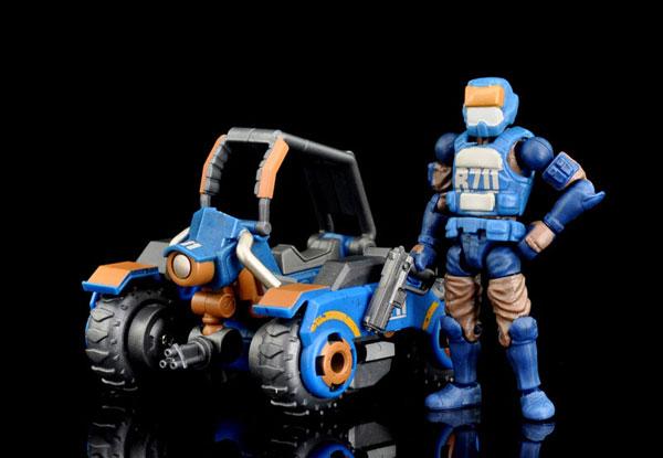 R711 Speeder MK1r set 可動フィギュア