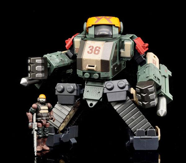 Marine Sieger Stronghold ST2M set 可動フィギュア