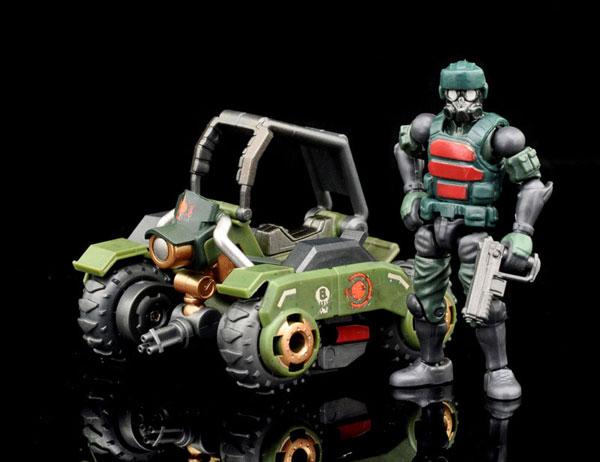 K6 Jungle Speeder MK1K set 可動フィギュア