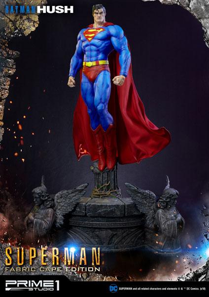 ミュージアムマスターライン/ BATMAN HUSH:スーパーマン マントファブリック 1/3 スタチュー