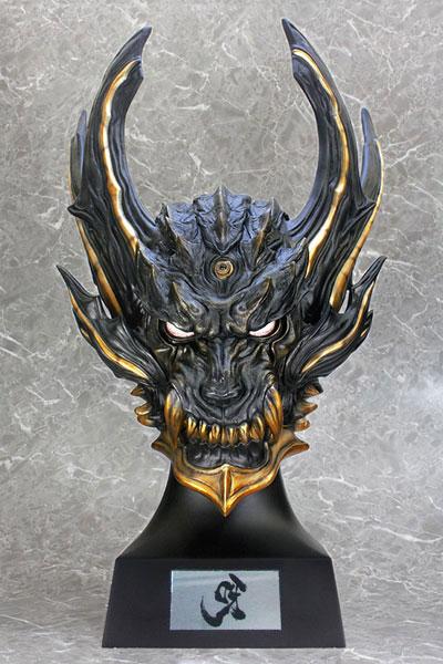 牙狼〈GARO〉プロップシリーズ 1/1 暗黒騎士キバ ヘッドモデル
