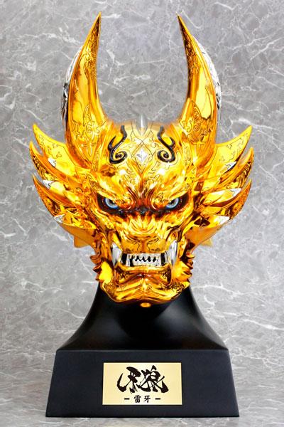 牙狼〈GARO〉プロップシリーズ 1/1 黄金騎士ガロ -雷牙- ヘッドモデル