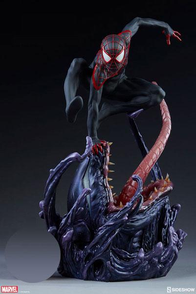 『マーベル・コミック』 プレミアム・フォーマット・フィギュア スパイダーマン(マイルズ・モラレス)[サイドショウ]【送料無料】《在庫切れ》