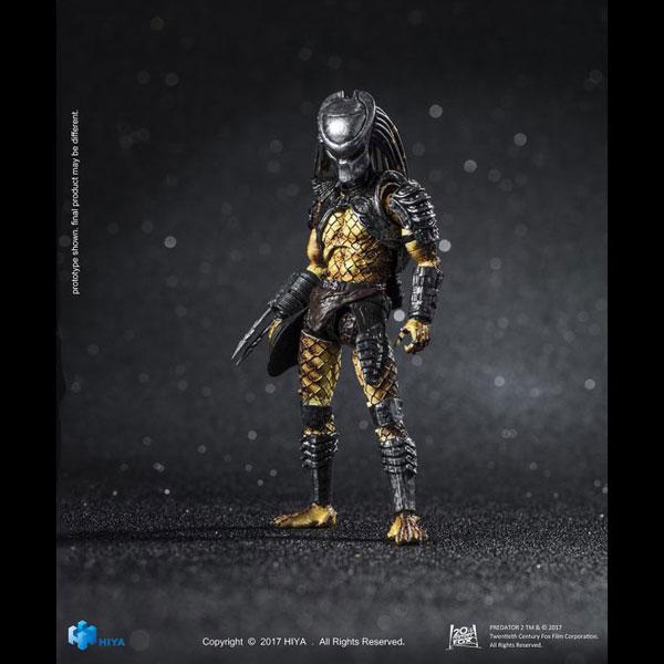 "Hiya Toys Predator 2 Scout Predator 3.75/"" Action Figure 1:18 Scale"