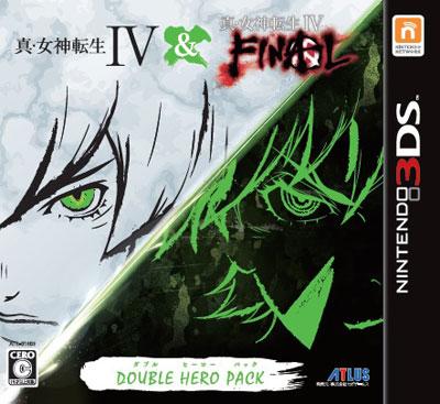 3DS 真・女神転生IV & FINAL ダブルヒーローパック[アトラス]【送料無料】《在庫切れ》