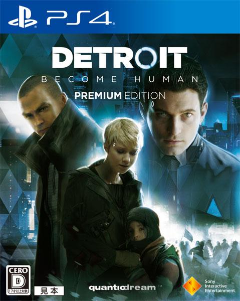 【特典】PS4 Detroit: Become Human Premium Edition[SIE]《在庫切れ》