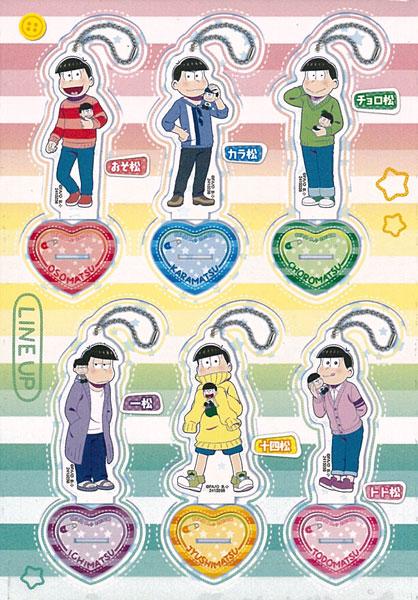 おそ松さん アクリルスタンドプレート 6個入りBOX[バンダイ]《発売済・在庫品》