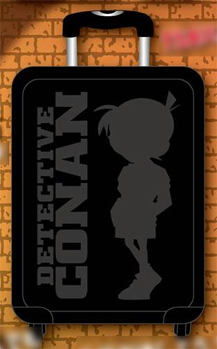 名探偵コナン スーツケース ブラック[スマイラル]【同梱不可】《在庫切れ》