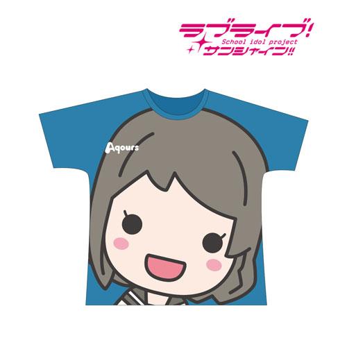 ラブライブ!サンシャイン!! フルグラフィックTシャツ(渡辺曜)/ユニセックス(サイズ/XL)(再販)[アルマビアンカ]《12月予約》