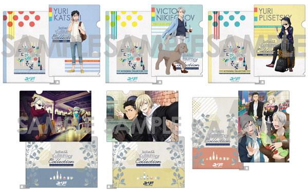 ユーリ!!! on ICE くつろぎコレクションファイル 6個入りBOX[ソル・インターナショナル]《在庫切れ》