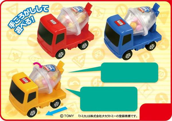 トミカお菓子運ぶよ! はたらくトラック 10個入りアソートBOX (食玩)