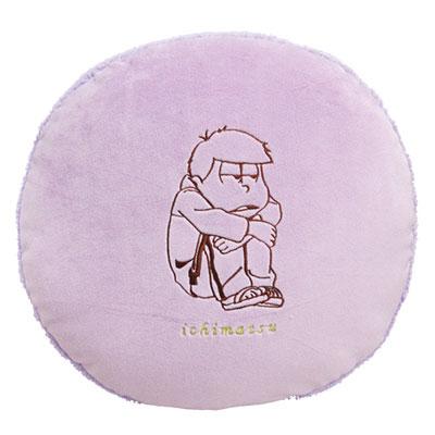 おそ松さん ふわもこ マカロンクッション 一松(再販)[バンダイ]《在庫切れ》
