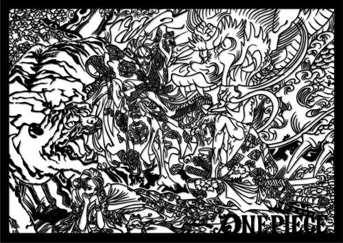 【限定販売】伽羅切絵 ワンピース vol.1[ヒキダシ]《発売済・在庫品》