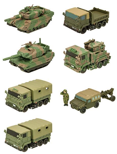 チビスケ 陸上自衛隊車両 10個入りBOX (食玩)